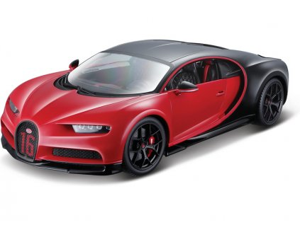Bburago Plus Bugatti Chiron Sport 1:18 červená
