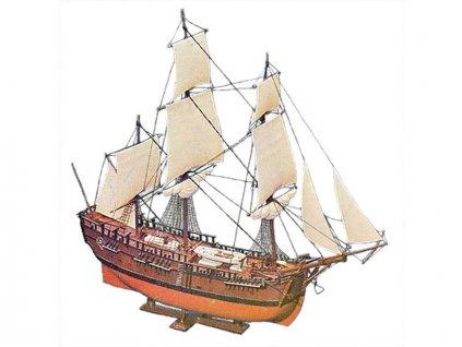 Airfix Endeavour Bark, Captain Cook 250. výročí (1:120) (Giftset)