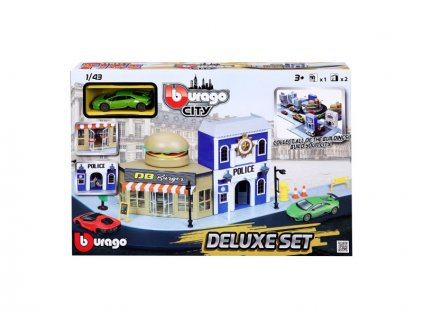 Bburago City - Deluxe Set