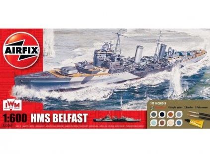 Airfix HMS Belfast (1:600)