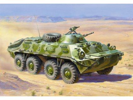 Zvezda obrněné vozidlo BTR-70 APC Afganistán (1:35)