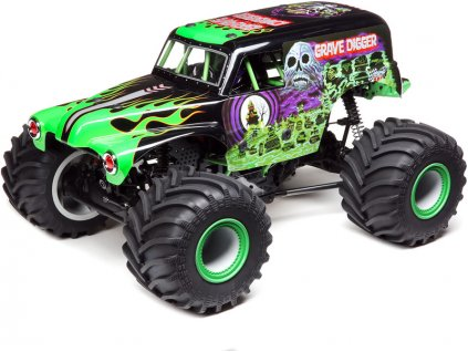 "LOSI LMT MONSTER TRUCK ""Grave Digger"" 4WD RTR 1:8"