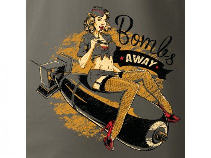 Antonio pánské tričko Bombs Away XXL