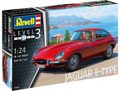 Revell Jaguar E-Type (Coupé) (1:24)