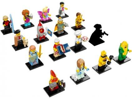 LEGO Minifigurky - Postavičky série 17