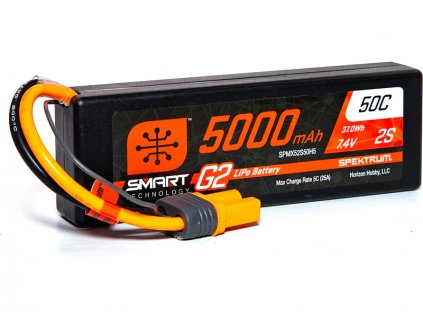 SPEKTRUM SMART G2 LIPOL 5000mAh 50C 7.4V