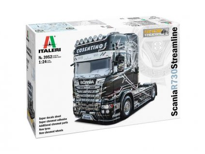 Italeri Scania R 730 Streamline 4x2 Show Trucks (1:24)