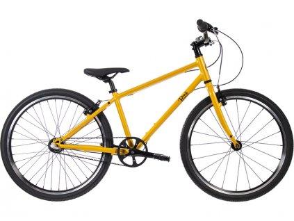"""Bungi Bungi - Dětské kolo 24"""" 3-rychlostní ultra lehké žluté"""
