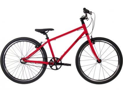 """Bungi Bungi - Dětské kolo 24"""" 3-rychlostní ultra lehké červené"""