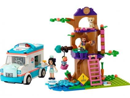 LEGO Friends - Veterinární sanitka