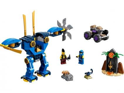 LEGO Ninjago - Jayův elektrorobot