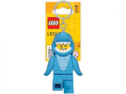 LEGO Iconic svítící klíčenka - Žralok
