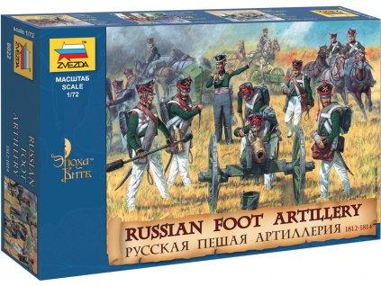 Zvezda figurky Russian Foot Artillery 1812-1814 (1:72)