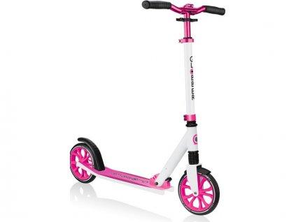 Globber - Koloběžka NL 205 White - Pink