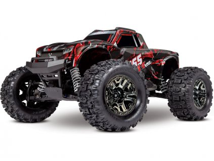 Traxxas Hoss 1:10 VXL 4WD TQi RTR červený