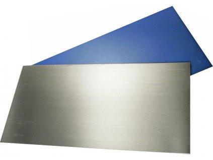 Plech hliník 127x258x0.8mm s povrchovou úpravou