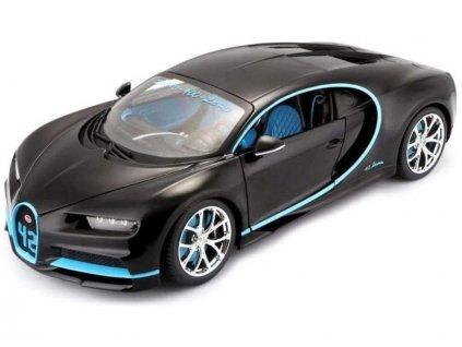 Bburago Plus Bugatti Chiron 1:18 černá
