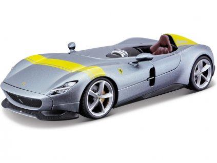 Bburago Ferrari Monza SP1 1:24 stříbrná