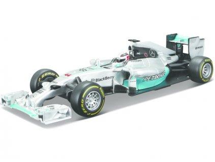 Bburago Mercedes F1 W05 Hybrid 1:32 #44 Hamilton