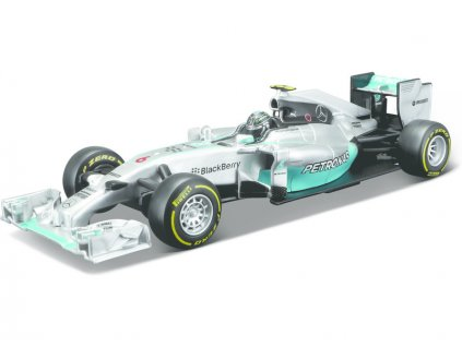 Bburago Mercedes F1 W05 Hybrid 1:32 #6 Rosberg