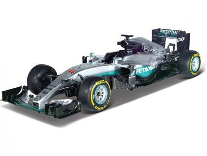 Bburago Mercedes F1 W07 Hybrid 1:32 #44 Hamilton