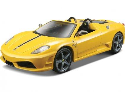 Bburago Ferrari Spider 16M 1:32 žlutá