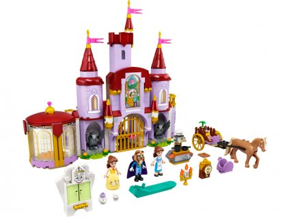 LEGO Disney Princess - Zámek Krásky a zvířete