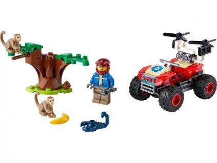 LEGO City - Záchranářská čtyřkolka do divočiny