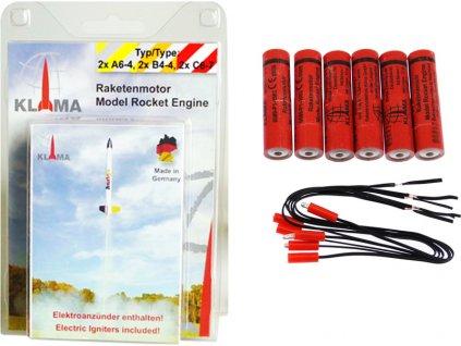 Klima raketový motor A6-4 B4-4 C6-7 EL (2+2+2)