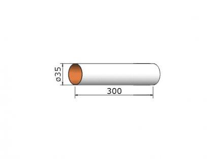 Klima Papírová trubka 35x300mm