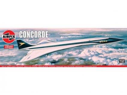 Airfix Concorde Prototype (BOAC) (1:144) (Vintage)