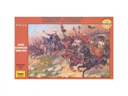 Zvezda figurky Turkish Cavalry 16-17th Century (1:72)