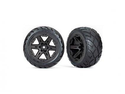 """Traxxas kolo 2.8"""", disk RTX černý, pneu Anaconda (4WD přední/zadní, 2WD přední) (2)"""