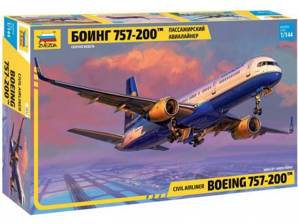 Zvezda Boeing 757-200 (1:144)