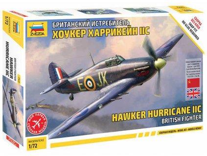 Zvezda Hawker Hurricane Mk II C (1:72)
