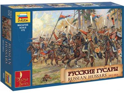 Zvezda figurky ruští husaři 1812-1814 (1:72)