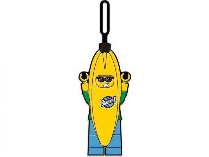LEGO jmenovka na zavazadlo - Iconic Banana Guy