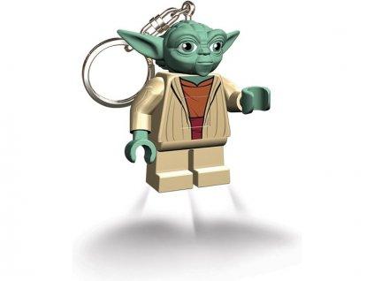 LEGO svítící klíčenka - Star Wars Yoda