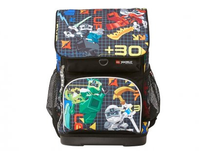 LEGO školní aktovka Optimo, 2 dílný set - Ninjago Prime Empire