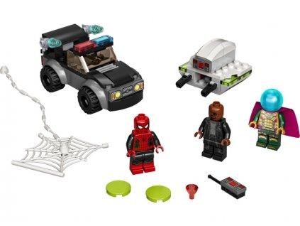 LEGO Super Heroes - Spider-Man a Mysteriův útok dronem