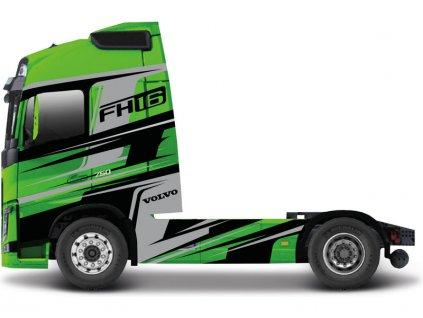 Bburago Volvo FH16 Globetrotter 750 XXL zelené