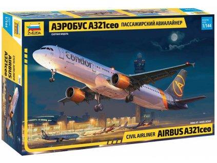 Zvezda Airbus A321 CEO (1:144)