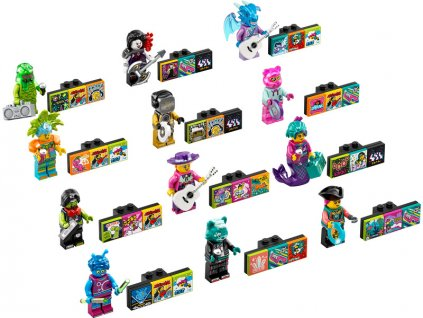 LEGO Vidiyo - Minifigurky Bandmates