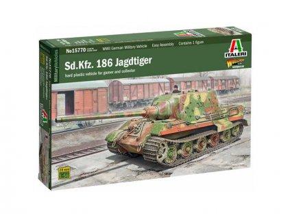 Italeri Sd.Kfz. 186 Jagdtiger (1:56)