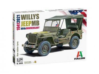 Italeri Willys Jeep MB (1:24)