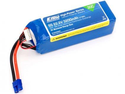 E-FLITE LIPOL 3200mAh 30C 22.2V