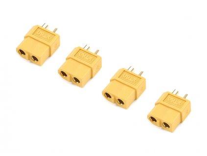 Konektor zlacený XT60 samec (4)