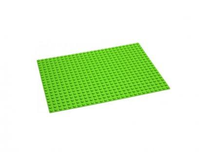 HUBELINO Podložka na stavění 28 x 20 bodů zelená
