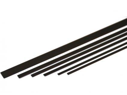 Uhlíková pásnice 0.5x5.0mm (1m)