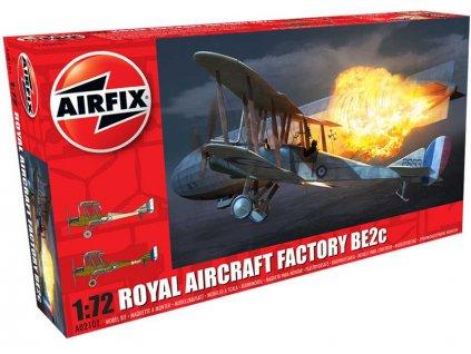 Classic Kit letadlo Royal Aircraft Facility BE2C (1:72)
